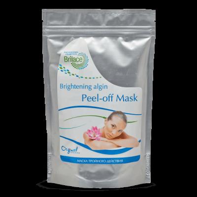 Альгинатная маска  для лица тройного действия Brightening algin peel-off mask 150 gr