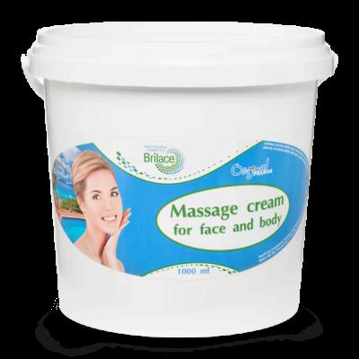 Массажный крем для тела Massage cream for face and body 1000 ml