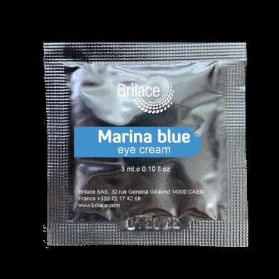 Marina blue eye cream  (крем дляя повік) саше 3 мл    купить в Киеве - низкая цена, быстрая доставка, тел. +38 (068) 298-5555