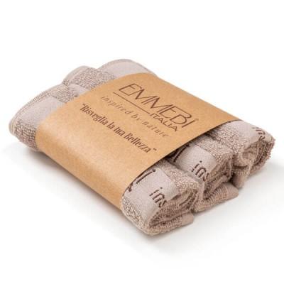 Набор из трех тканевых салфеток BioNature kit 3 small towel