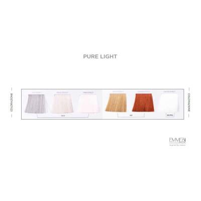 Палитра безаммиачных тонирующих красок 6 оттенков AF Pure Light Color Chart