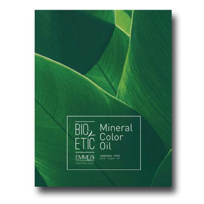 Палитра масляных красителей 35 оттенков Mineral Color Oil