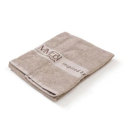 Полотенце махровое Emmebi Italia BioNature ecru towel 50x90- 1 шт
