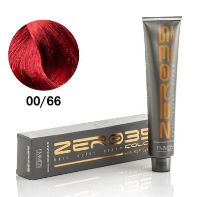 Краска для волос безаммиачнa 00/66 усиленный красный / Fintense redl 100ml