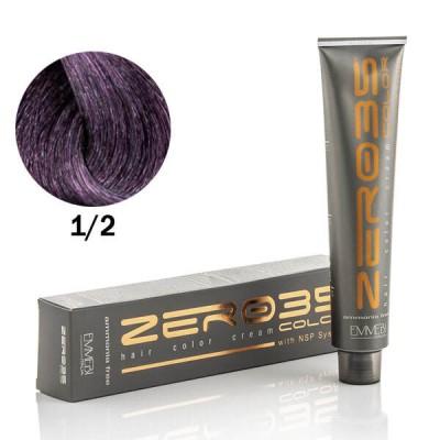 Краска для волос безаммиачнa черно-фиолетовый / violet black 1/2  100ml