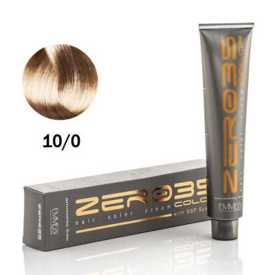 Краска для волос безаммиачнa natural platinum 10/0 платиновый натуральный блонд 100ml