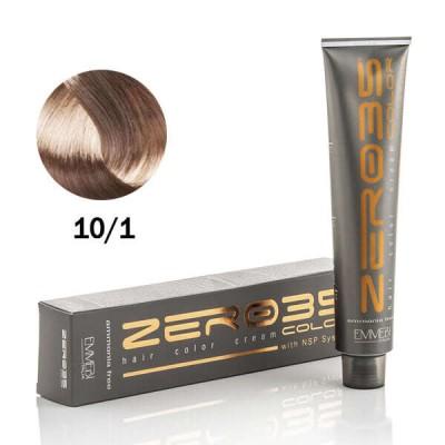 Краска для волос безаммиачнa  10/1  платиновый пепельный блонд / ash platinum blonde   100ml