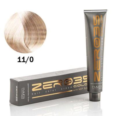 Краска для волос безаммиачнa 11/0 ультра светлый натуральный блонд / ultra shiny natural very light blonde 100ml