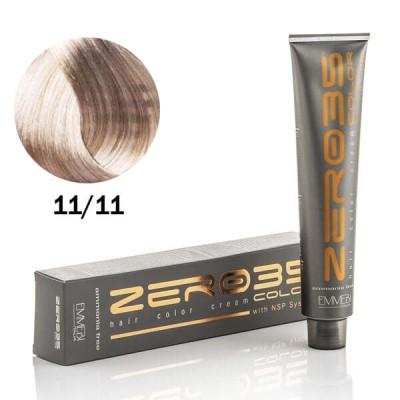 Краска для волос безаммиачнa ultra shiny ver light ice blond 11/11  ультра светлый холодный блонд 100ml