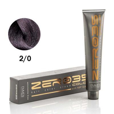 Краска для волос безаммиачная ammonia free very dark brown 2/0 очень темно-коричневый 100ml