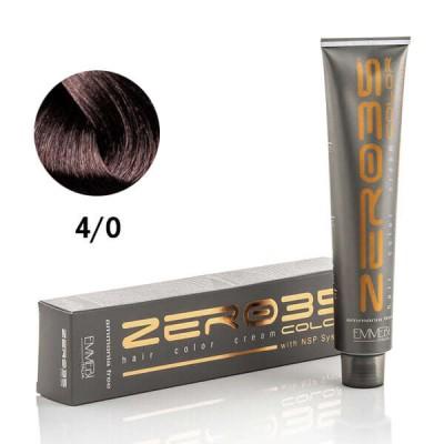 Краска для волос безаммиачная ammonia free  brown 4/0 КАШТАН 100ml