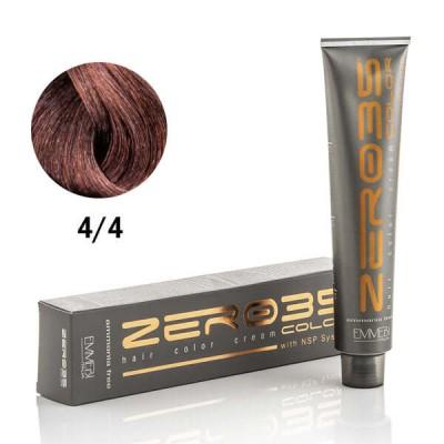 Краска для волос безаммиачнaя Copper brown 4/4 медный каштан 100ml