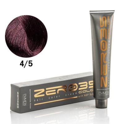 Краска для волос безаммиачнa каштан махагон / mahogany brown 4/5 100ml