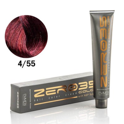 Краска для волос безаммиачнaя глубокий махагон каштановый Deep mahogany chestnu 4/55 100ml