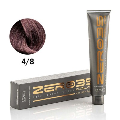 Краска для волос безаммиачнa  4/8 темный шоколад / dark chocolate 100ml
