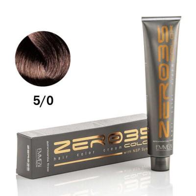 Краска для волос безаммиачнa  light brown 5/0 светлый каштан 100ml