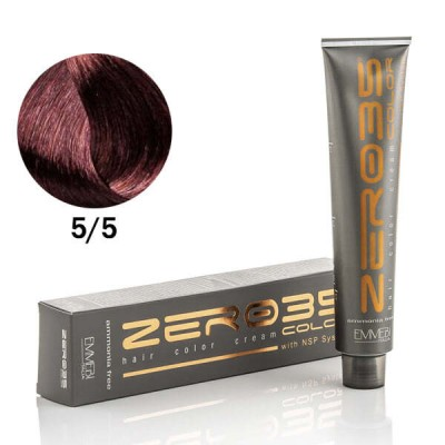 Краска для волос безаммиачная махагон светлый каштан / light mahogany brown 5/5 100ml