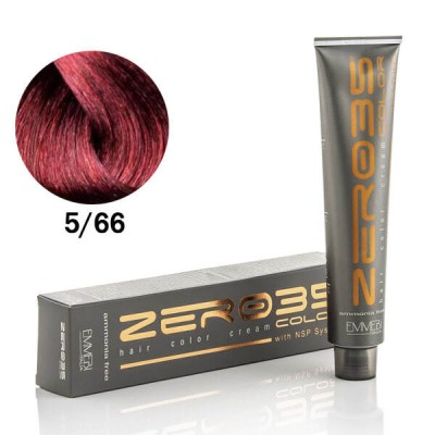 Краска для волос безаммиачнa deep red light brown глубокий красный светло-каштановый 5/66 100ml