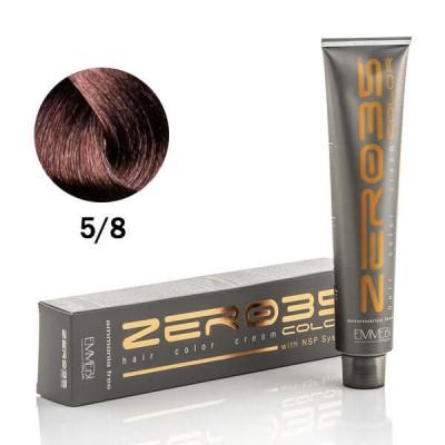 Краска для волос безаммиачнa  chocolate 5/8  шоколад 100ml