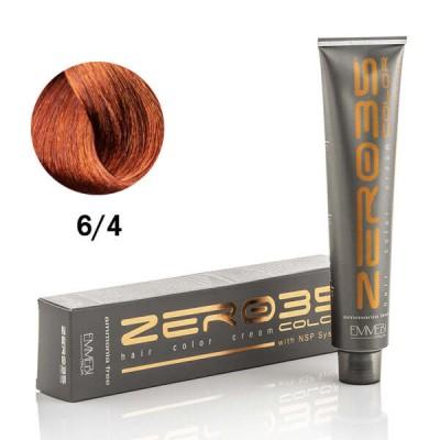 Краска для волос безаммиачнaя copper dark blonde 6/4 медный темный блонд 100ml