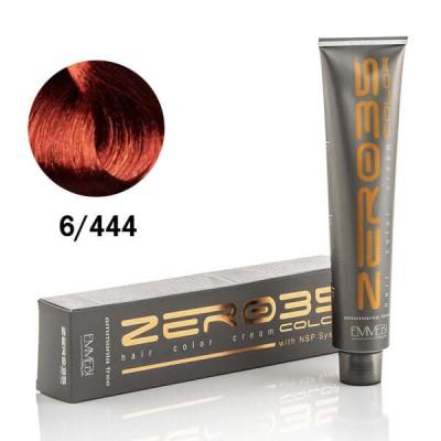 Краска для волос безаммиачнaя Copper Dark Blonde 6/444  экстра медный темный блонд100ml