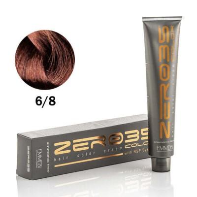 Краска для волос безаммиачнa  azel-nut  6 /8 холодный лесной орех  100ml