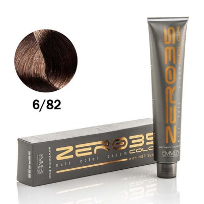 Краска для волос безаммиачнaя cold hazelnut  6/82 холодный лесной орех 100ml