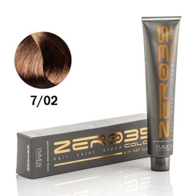 Краска для волос безаммиачнaя  7/02 холодный блондин / cold blonde 100ml