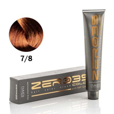 Краска для волос безаммиачнa cognac 7/8  коньяк 100ml