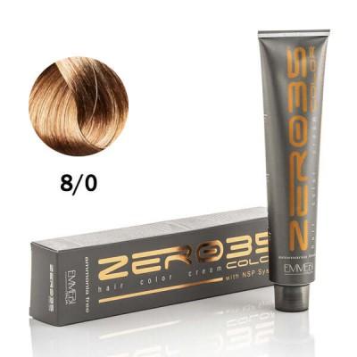 Краска для волос безаммиачнa  AF light blonde8/0 светлый блонд 100ml