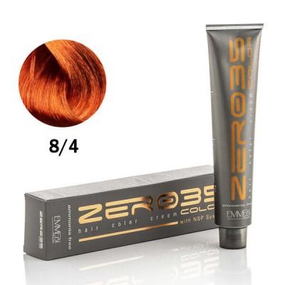 Краска для волос безаммиачнa Light Copper Blonde 8//4 медный светлий блонд 100ml