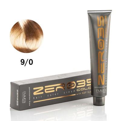 Краска для волос безаммиачнa AFvery light blonde  9/0 очень светлый блонд 100ml