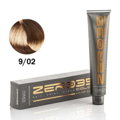 Краска для волос безаммиачнa  very cold light bl 9/02 очень светлый холодный блонд 100ml