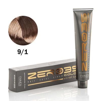 Краска для волос безаммиачнa  lightened ash blonde 9/1 100ml