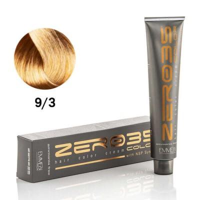 Краска для волос безаммиачнaя Very light golden  очень светло-золотистый блонд 9/3 100ml