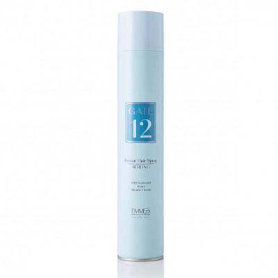 Лак для волос сильной фиксации Gate 12 Ocean Hair Spray Strong 500ml