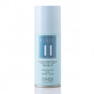 Лак для волос сухой средней фиксации Gate 11 Ocean Hair spray medium 100ml