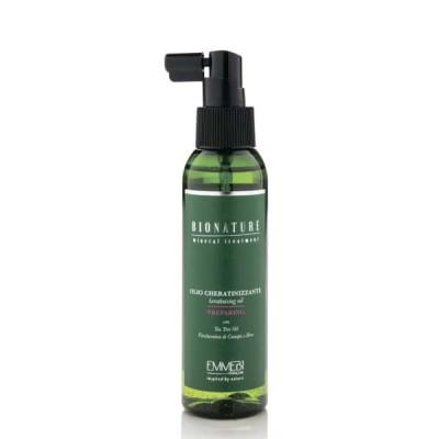Кератинизирующее масло волос BioNature Olio Cheratinizzante 125ml