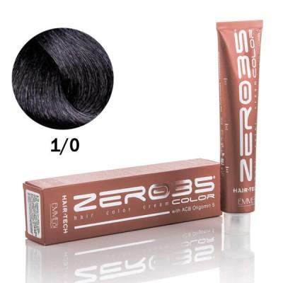 Краска для волос  Hair-Tech black 1/0 Чёрный 100 ml