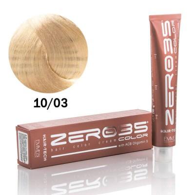 Краска для волос с аммиаком  Hair-Tech  platinum natural med.blond 10/03 платиновый натуральный средиземноморский блонд 100ml