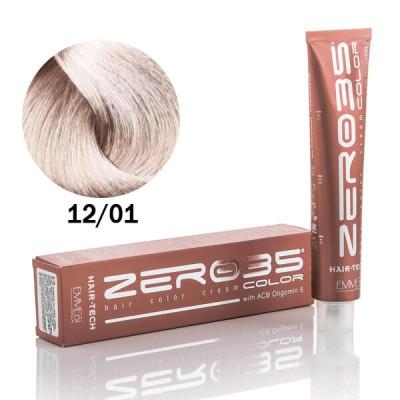 Краска для волос ultra light ice ash blond 12/01 ультра светлый холодно-пепельный блонд 100ml
