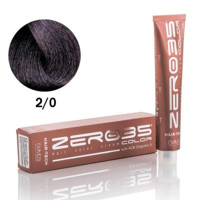 Краска для волос Hair-Tech  brown black 2/0 БРЮНЕТ 100ml