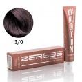 Крем краска для волос Hair-Tech  dark brown 3/0 ТЕМН. КАШТАН 100ml