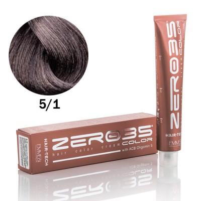 Краска для волос пепельный светло-коричневый light ash brown  5/1 100ml