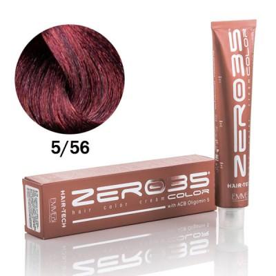 Краска для волос Hair-Tech light mahogany auburn brown 5/56 светло-каштановый красная Венеция 100ml