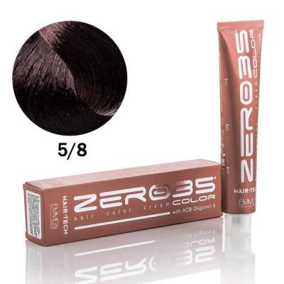 Краска для волос Hair-Tech 100ml  5/8 dark chocolate черный шоколад