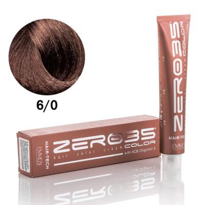 Краска для волос аммиачная  Hair-Tech  dark blond 6/0 темный блонд 100 ml