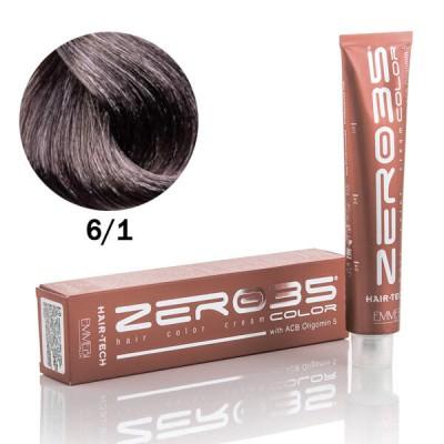 Краска для волос аммиачная dark ash blond пепельный темный блонд 6/1 100ml