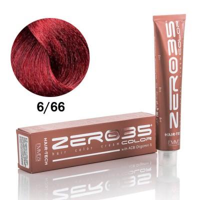 Краска для волос Hair-Tech 6/66 интенсивно красный темный блонд / intense red dark blonde 100ml