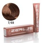 Краска для волос аммиачная Hair-Tech natural mediterranean blond 7/03  натуральный средиземноморский блонд 100 ml